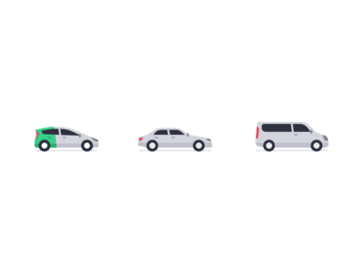 Taxify car icons