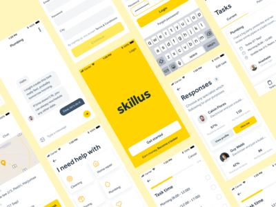Skillus task app