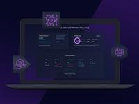 Affiliate Program Balance (Crypto Dashboard)