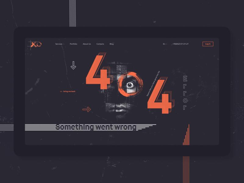 404 PAGE desctop typography swiss modern clean ecommerce graphic contrast creative people 404page error dark website landing page web minimal design ux ui