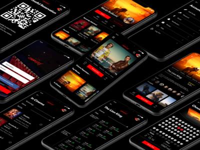 Cineplexx Mobile Application UI/UX Redesign