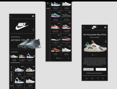 Sneaker Shopping Mobile Application Design