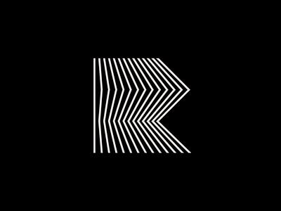R lettermark letter logo line logo 3d logo lines letter r r logo letter exploration lettermark monogram simple geometric typography brand identity branding minimal logo design logo