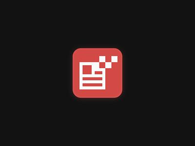 Newsbytes logo design high tech pixels logo grid tech logo bit pixel newspaper app logo news app news logomark geometric brand identity branding minimal logo design logo