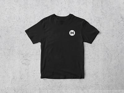 Halve logo design circle diversity apparel h logo equal equality social justice clothing bold lettermark monogram geometric typography brand identity branding logo design minimal logo