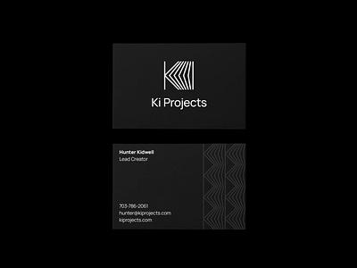 Ki Projects logo design lines letter k visual identity play photography camera film production k logo logomark lettermark monogram simple geometric brand identity branding minimal logo design logo