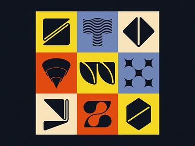 36 Days of Type 2021: S–0 type letter logo letter z letter x letter w letter v letter s letters lettering alphabet custom type retro font design type design geometric typography brand identity branding logo design logo