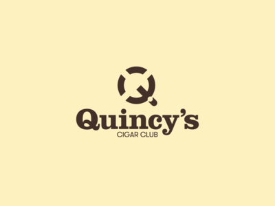Quincy's Cigar Club logo