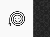 isključi se (unplug yourself) - Logo Design