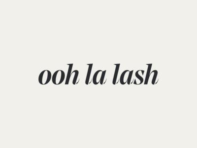 Ooh La Lash - logo design