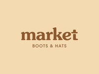 Boots and hats market
