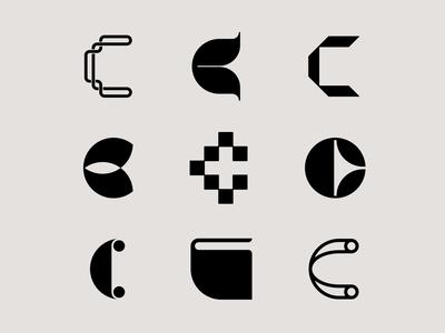 Letter C exploration