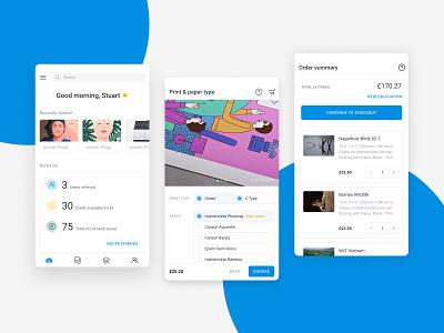Creative Hub mobile designs #1 webapp mobile ux  ui ui