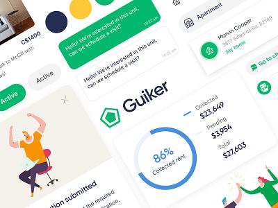 Guiker Design System web design mobile design figma branding mobile design system
