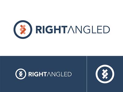 Rightangled logo branding dna logo