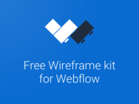 Freebie: Legowerk - wireframe kit for Webflow