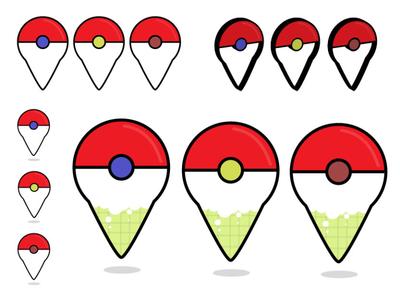 Pokemon Go Map Icons