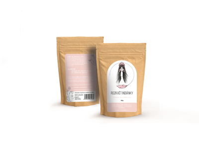 Tea packaging design for a nonprofit organization branding design brand minimalist packaging template tea package design package simple minimal illustration design branding brand identity