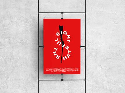The Hateful Eight – Movie Poster design minimalist vector simple typography minimal minimalism poster design poster art poster