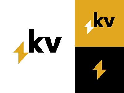 k&v branding iphone website app colours brand brand identity letter minimalist logo design typography logo simple minimal design minimalism