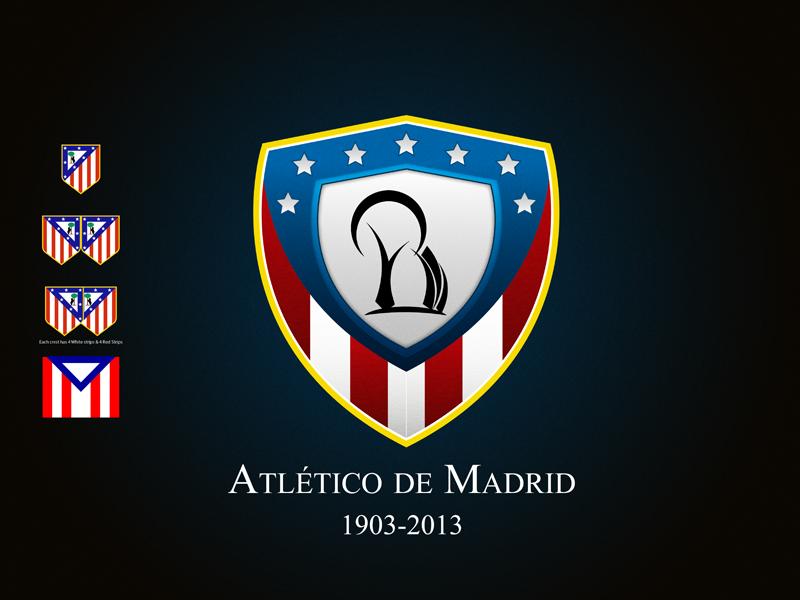 Atletico Madrid Rebrand Concept Logo By Hani Aldar Dribbble Dribbble