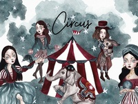 Circus - Watercolor collection