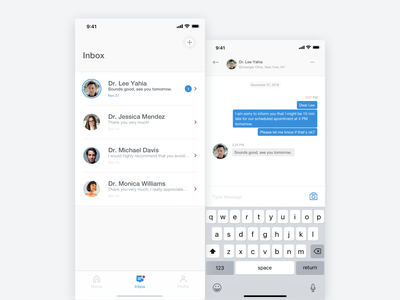 My Skin Fitness - iOS App - Chat Screens stats skin skincare health graph beauty artificial intelligence ux ui sketch product design mobile ui medical ios interaction cosmetic clean app analytics ai