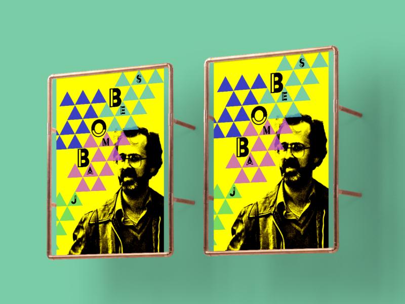 Bob James Poster adobe digital art creative poster design photoshop graphic design