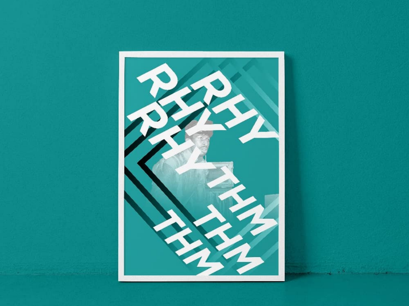 Second Poster in the series typography poster art poster design graphic design
