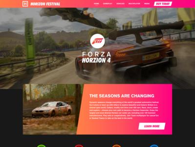 Forza Horizon 4 -- Web