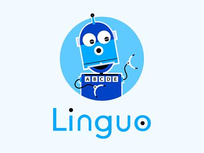 Linguo Logo icon design logo design icon design vector branding logo