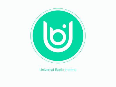 UBI Logo ethereum icon vector concept design branding logo blockchain