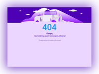 404 Screen for Kleros DApps