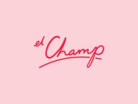 El Champ Logo Design