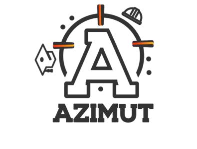 Azimut satrtup logo logo branding logodesign