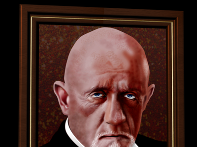 Mike Ehrmantraut vector portrait portrait art vector illustration breaking bad mike ehrmantraut vectorart vector portrait affinity designer
