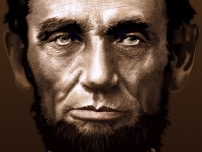 Abe Lincoln Vector Portrait affinity designer vector portrait abe lincoln