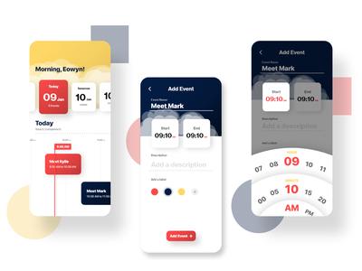 Task Reminder App concept - Daily UI Challenge