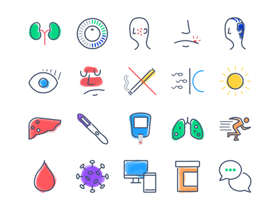 HeyDoctor Services Icons