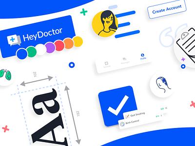 HeyDribbble! illustration logo telehealth branding medicine telemedicine healthcare health doctor