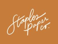 Staples Paper Company Logo