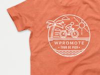 Tour De Pier T Shirt Design