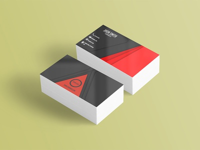 Business Card potoshop business card