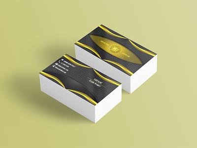Business Card - Golden potoshop business card gold