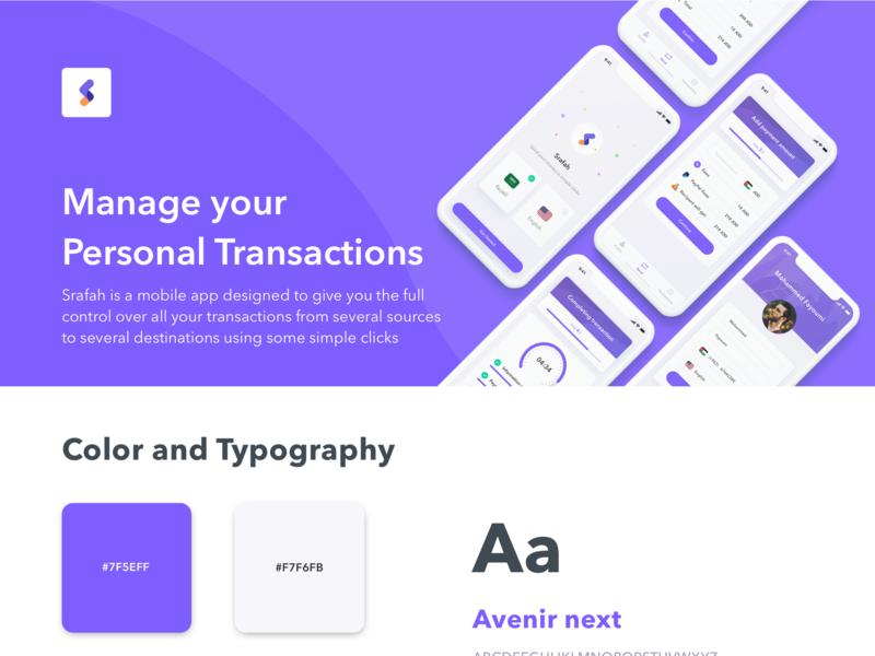 Srafah Mobile App app creative design app branding ios app ios android app design minimal illustration ux ui flat design