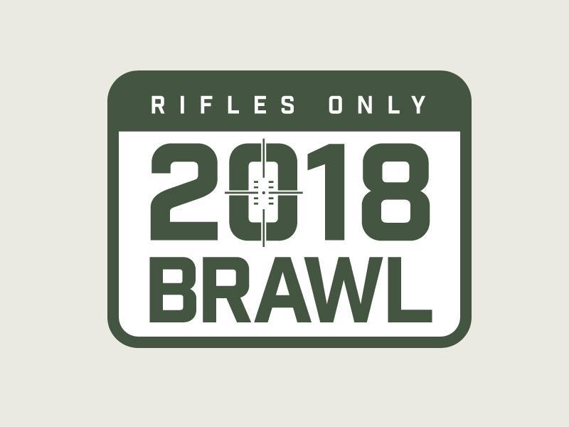 Rifles Only logo design identity branding illustration graphic design