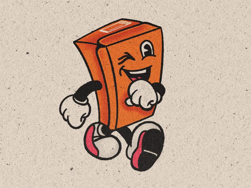 Boxboy illustration branding graphic design