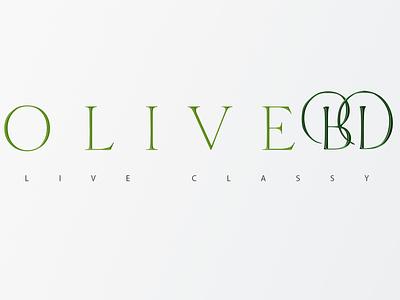 OliveBD Logo Design behance dribbble logo design branding fashion brand fashion olive logo