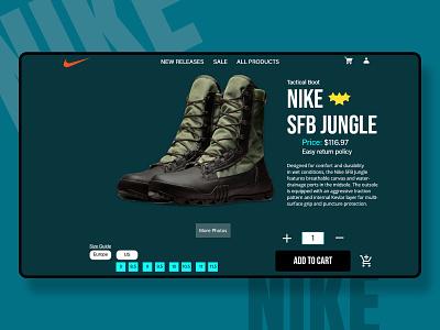 Nike- Cart design graphic design advertising branding clean ui adidas nike shoes fashion app nike web  design app design
