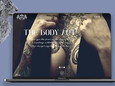 Tattoo website design photoshop advertising graphic design tattoo girl apple mackbook ui design web design tattoo artist tattoo design tattoo
